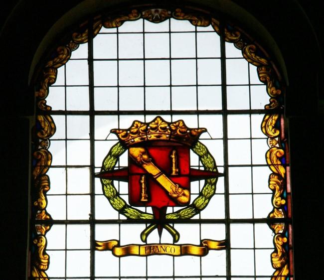 Franco en la catedral de Baeza