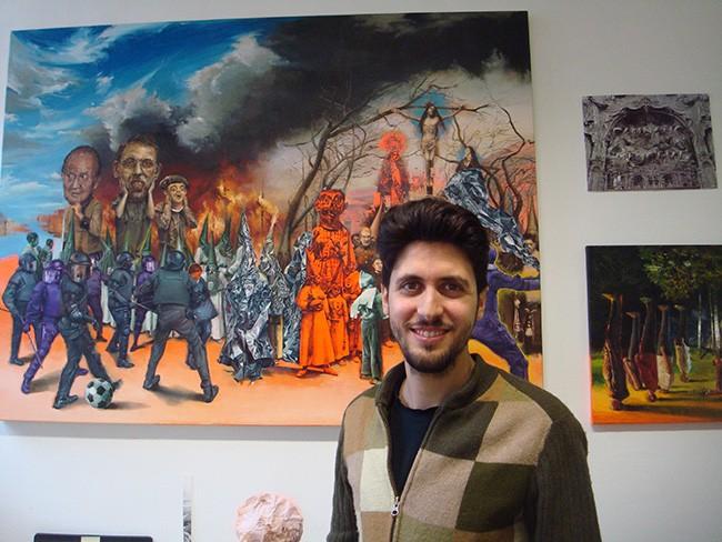 Entrevista a Juanan Soria. Un pintor andaluz en Gante