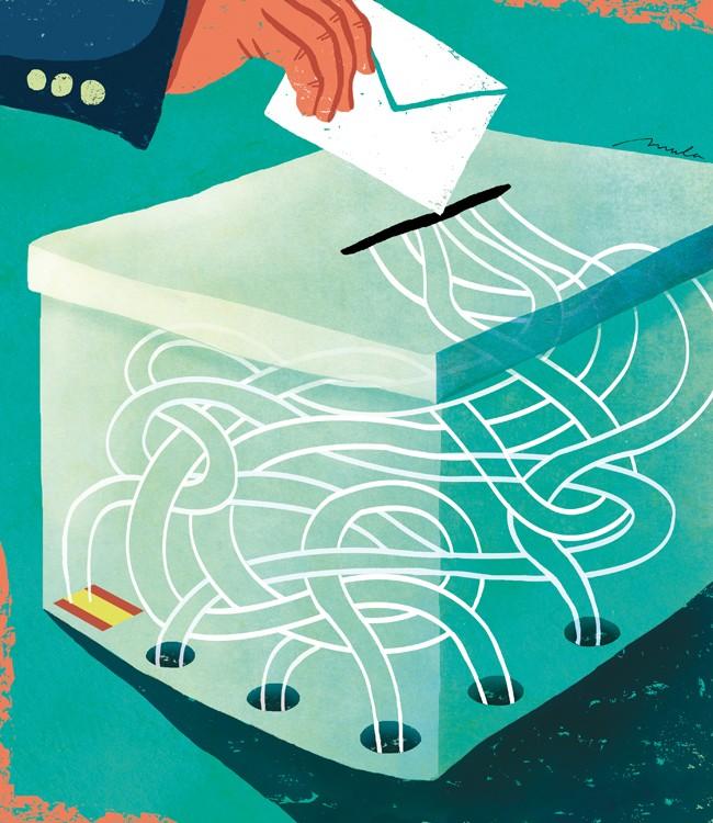 Suplicando el voto